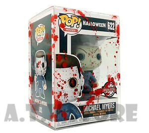 """ATV Protectors / Cases for 4"""" Funko Pops (Pack of 10, 5 or 1) Red Blood Splat"""