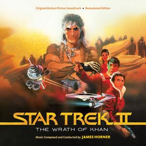 Star Trek II The Wrath Of Khan - 2 x CD Complete - OOP - James Horner