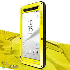 Full Protection Metal Bumper Case Cover+Glass for SONY XPERIA Z5 SO-01H/SOV32