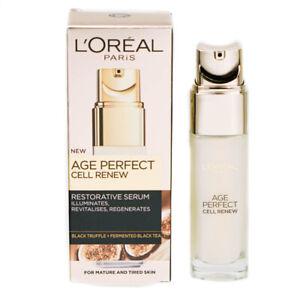 L'Oreal Age Perfect Serum Cell Renew Restorative 30ml Hydrating & Regenerating
