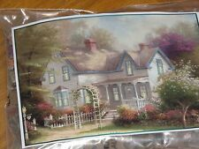 Home Is Where The Heart Is II Thomas Kinkade Art 300 Pc Puzzle - New Sealed Bag