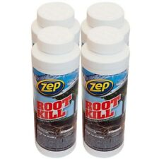 Zep 32 oz. Root Kill (4-Pack) Drain System Sewer Fungus Control Septic Pipe Line