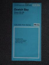 "Ordnance Survey 2.5"" Map SS58 Oxwich Bay 1958 Oystermouth The Mumbles Penmaen"