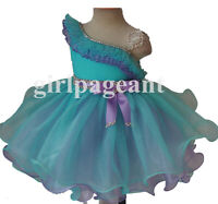 Infant/toddler/baby/children Pageant/formal Dress 179B with hairbow