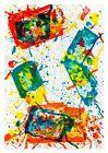 Sam Francis: Untitled, 1982. Signed, Numbered, Fine Art Print