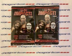 2X 2009 TriStar TNA Impact Sealed Pack (Nash Hemme Steiner Love Sky AUTO/Kiss)?