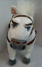 "Disney Store Tangled Rapunzel Maximus White Horse 14"" Posable Plush Doll"