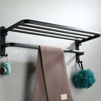 59*23*19cm Bathroom Towel Rail Layer Toilet Rack Shelf Wall Mounted Holder Tools