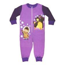 Bas de pyjama violets pour fille de 2 à 16 ans
