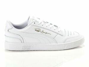 Scarpa da ginnastica uomo Puma Ralph Sampson Lo White Bianco - Oro 370846 08