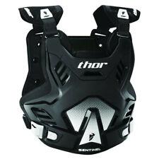 Thor Sentinel GP Brustpanzer Körperschutz Oberkörperprotektor schwarz/weiß