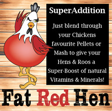 Chicken Feed - Super Addition 750g - Nutrient Dense - Add to Feed