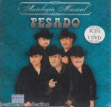 Pesado CD NEW Antologia Musical Con 3 CD's y 1 DVD 45 Exitos 29 Videos SEALED