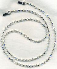 All Swarovski AB Crystal Eyeglass-Glasses Holder Necklace Chain