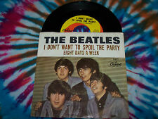THE BEATLES Eight Days A Week/I Don't Want To Spoil the Party 45rpm PS VG/VG+