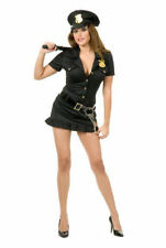 NAUGHTY COP ADULT HALLOWEEN COSTUME BLACK SIZE X-SMALL