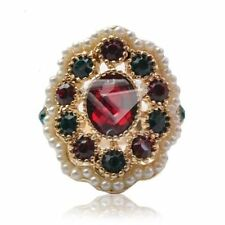 Alloy Ruby Fine Rings