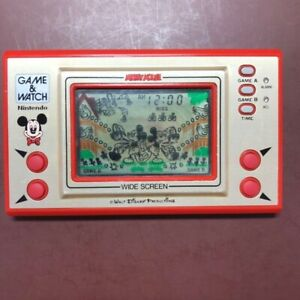Mickey Mouse Nintendo Game & Watch Working Condition Pre-ownd Excellent #806