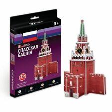 3D Puzzle CubicFun - Spasskaya Tower (Russia) - 29 pieces