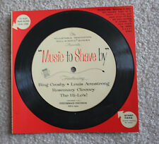 Music to Shave By Remington Roll-a-matic Shaver Record Advertising Record