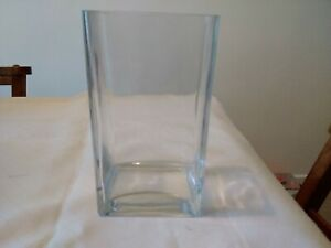 Contemporary Rectangle Glass Vase