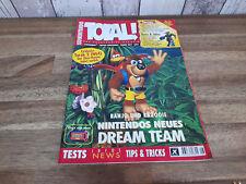 Total! 8/97 Nintendo Zeitschrift Topzustand inklusive Poster