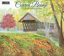 2019 LANG Calendar COVERED BRIDGE Art by Susan K Jordan and Persis Clayton Weirs