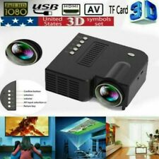 1080P Mini Smart Home LED Theater Projector  FHD 3D AV USB Video Movie Portable