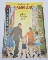 Vintage Milton Bradley Land Pamphlet Ad Welcome to Gameland 1962 CATALOG