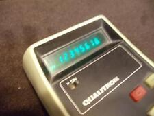 Vintage Qualitron Electronic Calculator Model 1437 Taiwan