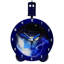 Official Doctor Who TARDIS Topper Alarm Bedside Clock with Authentic Sounds New