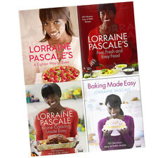 Lorraine Pascale 4 Books Collection Set Lorraine Pascales Fast,Fresh and Easy