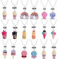 "2Pcs Kids Girls Friendship Necklace ""Best Friends"" Pendant Children Jewelry Gift"