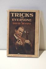 VINTAGE MAGIC BOOK - Tricks for Everyone by David Devant (6th ed) (1920)