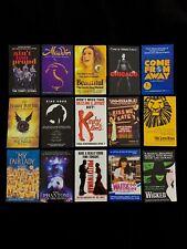 15x Mini Broadway Theatre Flyers. Kinky Boots, Beautiful, Waitress, Wicked, CFA