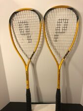 Prince Force 3 Lumina Graphite Tennis / Squash Racket Lot of 2