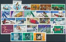 [G356929] Worldwide Olympics good lot of stamps very fine MNH