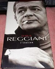 SERGE REGGIANI RARE COFFRET LONG BOX 3 CD + LIVRET L ITALIEN