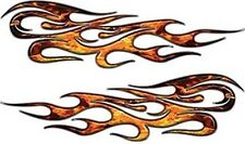 """Traditional Style Flame Decals Inferno 18"""" REFLECTIVE FL09"""