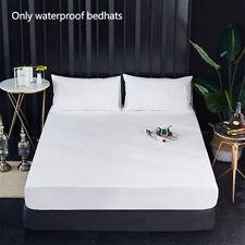 Solide imperméable-Matelas Protecteur Lavable Utilisation aisée Anti-Mite Bed Co...