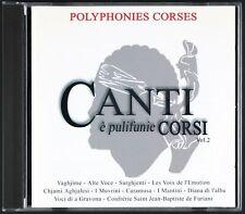 POLYPHONIES CORSES - Canti è pulifunie Corsi - 2 CDs
