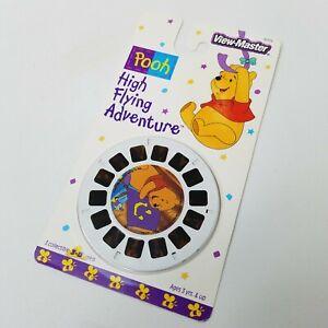 New Vintage Winnie the Pooh High Flying Adventure View Master Slides 3 Reels