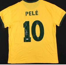 Pele Autograph Signed Brazil Jersey Soccer World Cup Auto PSA COA Holo