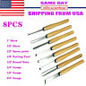 New 8pc Wood Lathe Chisel Set Turning Tools Woodworking Gouge Skew Parting Spear