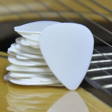 Wholesale Lots of 500pcs White 0.71mm Medium Smooth Abs Guitar Picks Plectrums