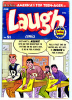 LAUGH COMICS #51 in FN condition a 1952 GOLDEN AGE Archie comic