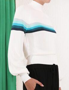 Zimmermann Moncur Sports Striped Sweater Size 2 Like New