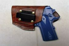 Left Hand IWB Concealment Holster for Compact 1911 Models with 3 Inch Barrels