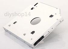 2nd 2.5 HDD SSD Hard Drive Optical bay Caddy for Lenovo Thinkpad L412 Swap GT33N
