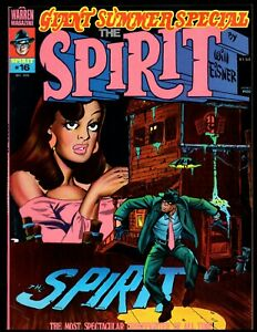 THE SPIRIT #16 FINE  (GIANT SUMMER SPECIAL) WARREN
